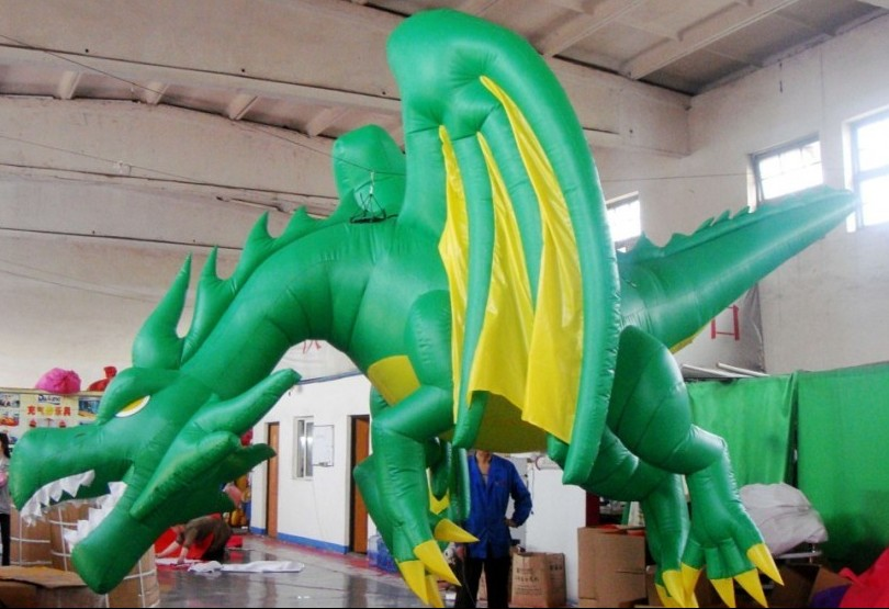 Inflatable Christmas Dragon.Projects Yantai Airart Inflatable Co Ltd