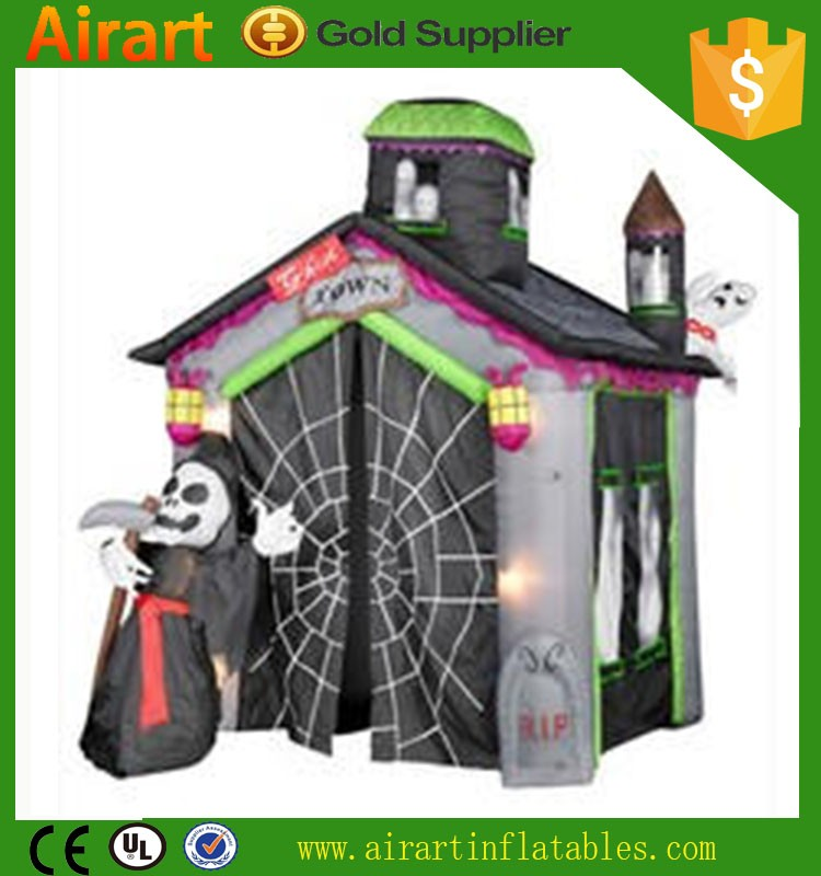 halloween inflatable haunted house