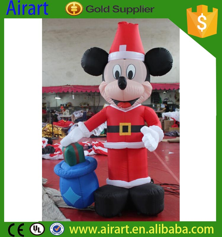 mickey mouse christmas inflatable - Mickey Mouse Christmas Blow Up