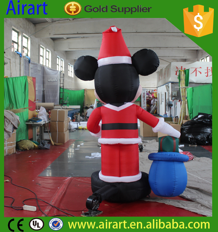 mickey mouse christmas inflatable | Yantai Airart Inflatable Co., Ltd