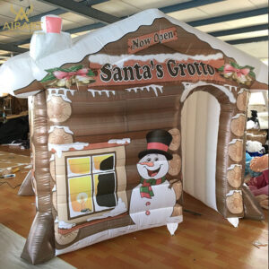 Inflatable  Santas Grotto For Sale  Brand New