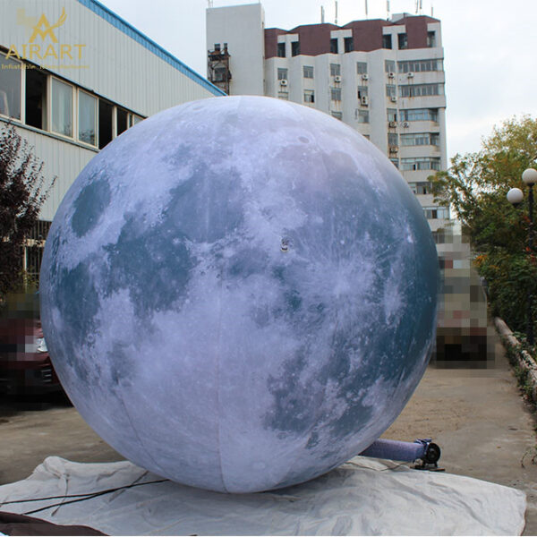 inflatable led moon ball