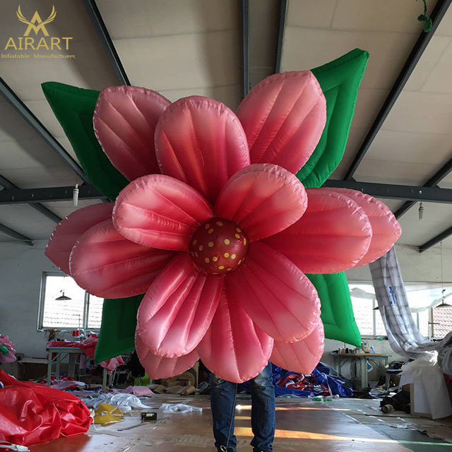 Inflatable Lotus Flower Yantai Airart Inflatable Co Ltd