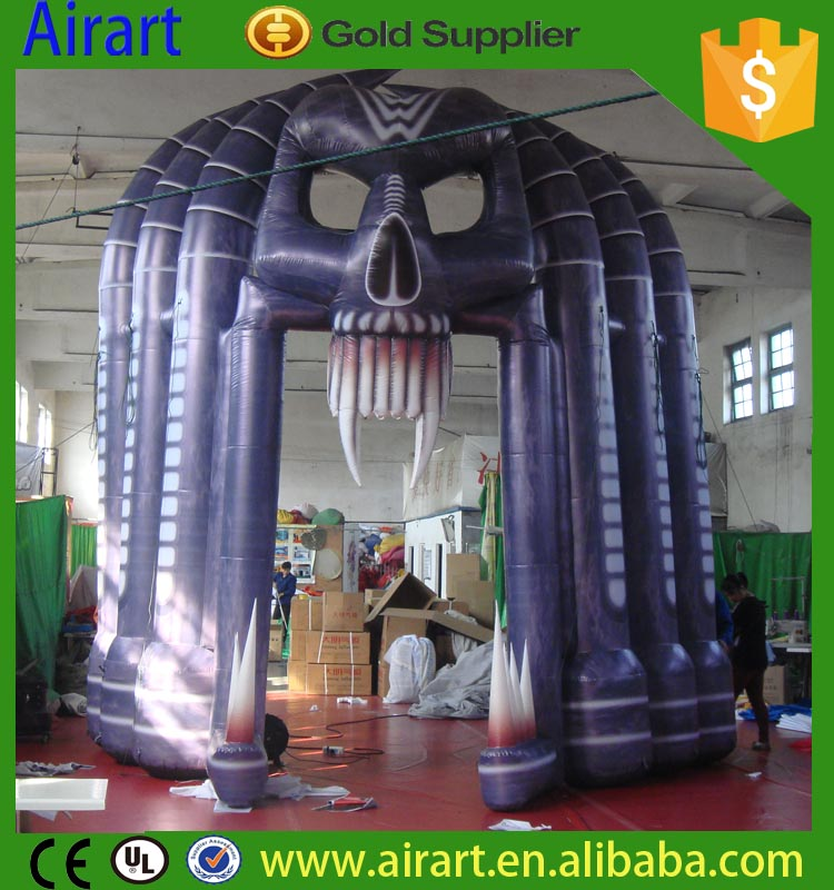 Halloween Inflatable Archway Yantai Airart Inflatable Co